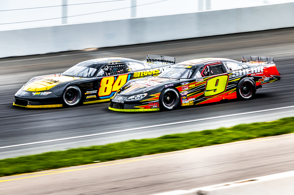 Brandon Watson and JR Fitzpatrick at Jukasa Motor Speedway 2019